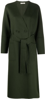 Ulla Johnson Belted Wool Midi Coat