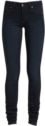 Paige Verdugo Transcend Mid-Rise Ultra-Skinny Extra-Long Leggy Jeans