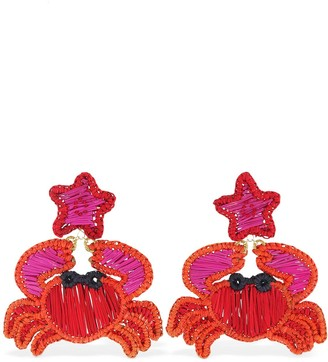 Mercedes Salazar Crab Clip-on Earrings