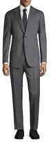 Canali Solid Notch Lapel Suit