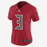 Nike NFL Tampa Bay Buccaneers Color Rush Limited Jersey (Jameis Winston) Women's Football Jersey