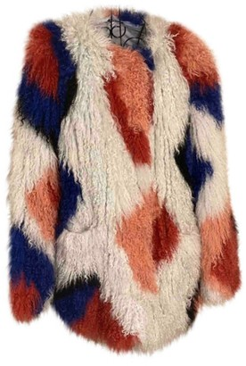 Elizabeth and James Multicolour Shearling Jacket for Women