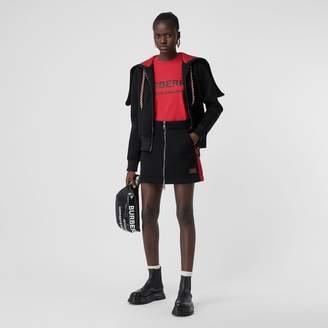 Burberry ogo Detai Neoprene Mini Skirt