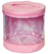 JJ Cole Clear Storage Bin in Pink (Set of 2)