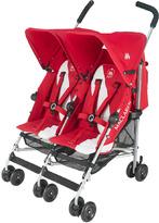 Maclaren Twin Triumph Stroller Scarlet