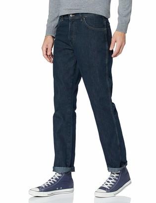 Wrangler Men's Regular Fit STR Darkstone Jeans