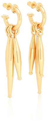 Tohum Design Lumia Maia 24kt yellow gold-plated earrings