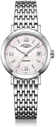 Rotary Watches Stainless Steel Windsor Ladies Watch