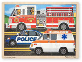 Melissa & Doug NEW To The Rescue Jigsaw Puzzle 24pce