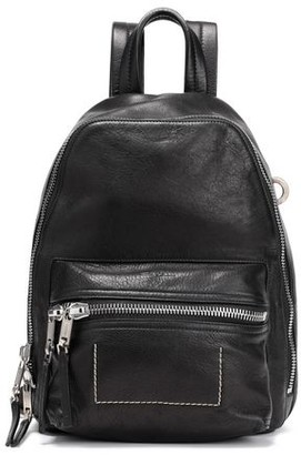 Rick Owens Zaino Mini Washed-leather Backpack