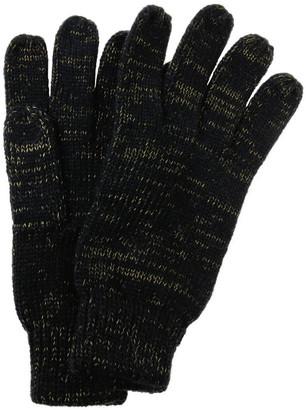 Miss Shop Lurex Metallic Gloves