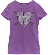 Fifth Sun Pur Berry 'Love' Direction Tee - Toddler & Girls