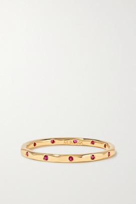 Melissa Joy Manning 14-karat Gold Ruby Ring - 5