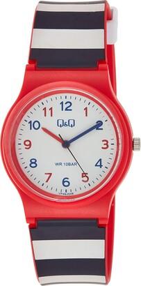 Citizen Unisex Adult Analogue Quartz Watch with Resin Strap VP46J048Y