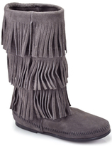 Minnetonka 3 Layer - Suede Fringe Boot