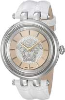 Versace Women's VQE010015 KHAI Analog Display Quartz White Watch