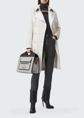Burberry Cashmere Belted Trench Coat