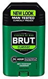 Brut Antiperspirant, Solid Oval, 2 Ounces (Pack of 6)