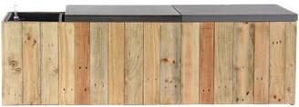 Uma Enterprises Wood Planter Bench