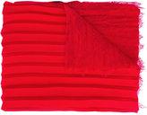 Valentino Garavani Valentino pleated and lace scarf