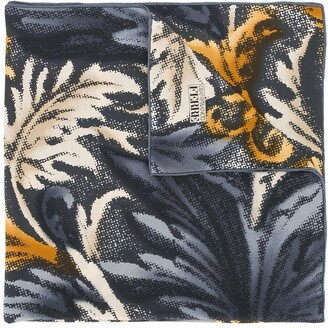 Gianfranco Ferré Pre Owned Foliage Print Scarf
