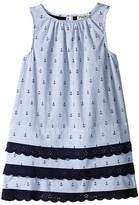 Hatley Nautical Lace Dress (Toddler/Little Kids/Big Kids)