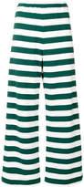 Aspesi striped wide leg trousers