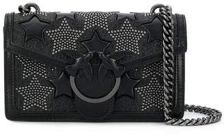 Pinko studded star crossbody bag