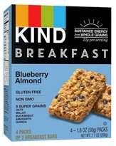 Kind Healthy Grains Blueberry Almond Breakfast Bars 4CT
