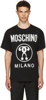 Moschino Black Glow-in-the-Dark Logo T-Shirt
