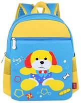 Black Temptation School Bags Childrens Backpack For School Toddle Backpack Baby Bag(Blue Dog)