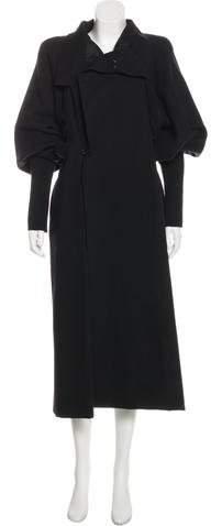 Rick Owens Wool Long Coat w/ Tags