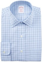 Brooks Brothers Check Classic Fit Dress Shirt