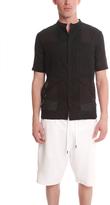 Helmut Lang Gauze Short Sleeve Shirt