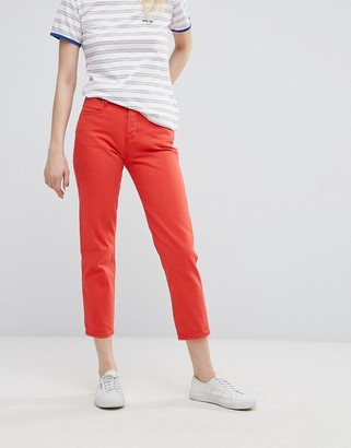 Wrangler Cropped Straight Jean