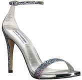 Steve Madden Silver Glitter Stecy Sandal