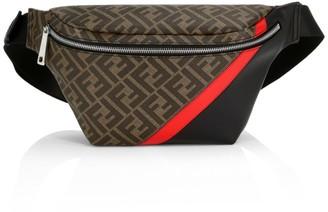 Fendi FF Leather Belt Bag