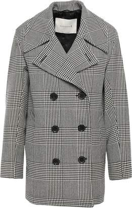 MACKINTOSH Double-breasted Prince Of Wales Checked Wool Coat
