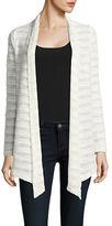 Karen Kane Seascape Open-Front Knit Jacket