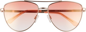BP 58mm Gradient Aviator Sunglasses