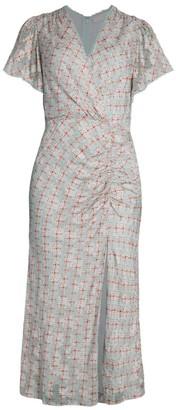 Jonathan Simkhai Lily Medallion Jacquard Midi Dress
