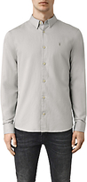 Allsaints Allsaints Hermosa Long Sleeve Shirt, Mirage Blue