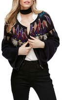 Free People Women's Embellished Cardigan