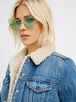 Free People Queen Of Hearts Sunglasses