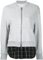 3.1 Phillip Lim double layer bomber jacket - women - Cotton - M