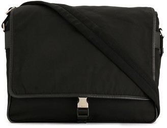 Prada Pre-Owned buckled flap crossbody bag