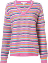 Marc Jacobs cashmere striped sweater