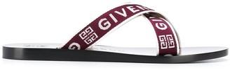 Givenchy 4G Webbing strap sandals