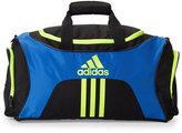 adidas Black & Blue Scorer Medium Duffel