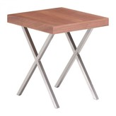 The Well Appointed House Renmen Side Table in Walnut